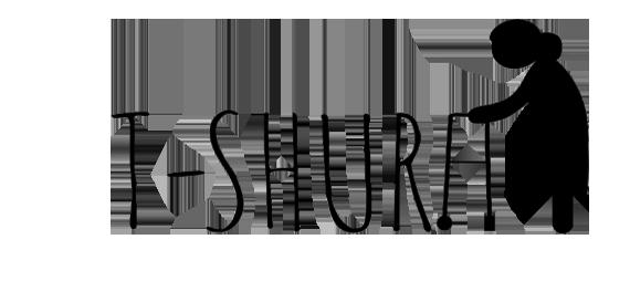T-Shura Cocchi di nonna's t-shirts logo: gli umarell e le sciure sulle magliette